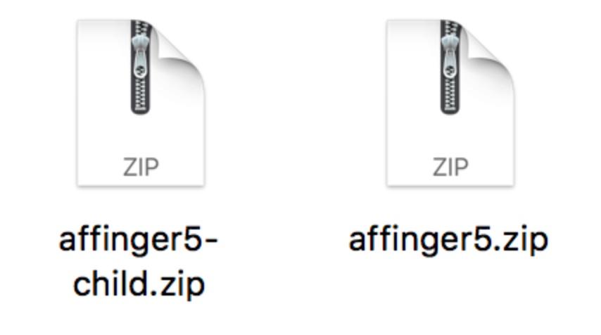テーマzipファイル