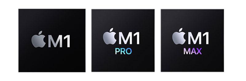 M1 Pro Max チップ