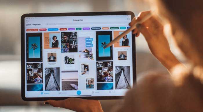 iPadでブラウジング